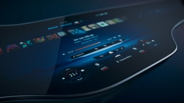 Mercedes-Benz EQS infotainment