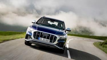Audi SQ8 TDI review - nose