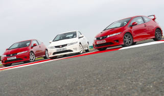 Honda Civic Type-R group test