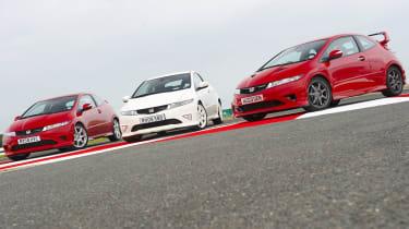 Honda Civic Type-R group test