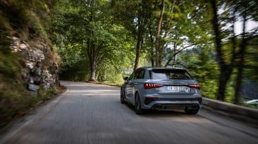 2022 Audi RS3 Sportback –rear tracking