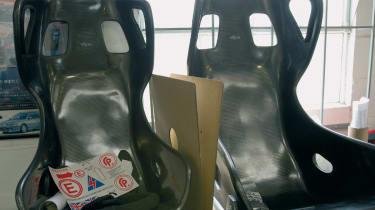 Nissan 350Z Racer seats