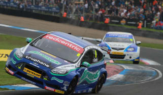 British Touring Cars Ford Focus two wheels