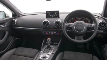 Audi A3 Cabriolet interior dashboard