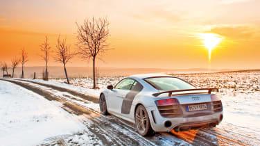 Audi R8 GT in Germany - sunshine