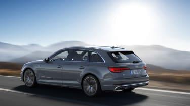 Audi A4 refresh 2018 - rear quarter