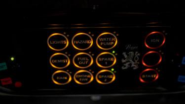 2021 Praga R1 buttons