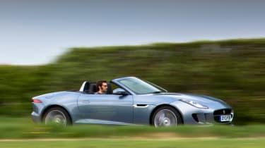 Best convertible cars: Jaguar F-type