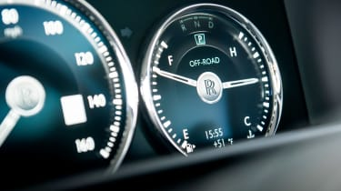 Rolls-Royce Cullinan dials