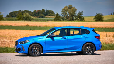 BMW M135i review 2019 - side