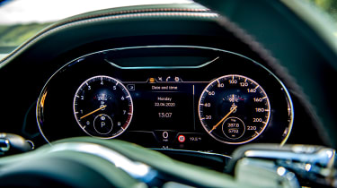 Bentley Continental GT review – green dials