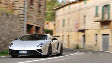 Lamborghini Gallardo in evo Magazine: December 2013