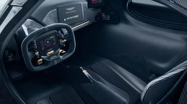 Aston Martin RB - interior