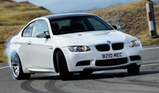 BMW M3 Competition doing skids!