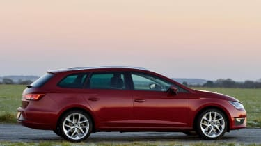 SEAT Leon FR ST side profile