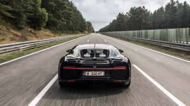 Bugatti Chiron '42' record breaker - rear