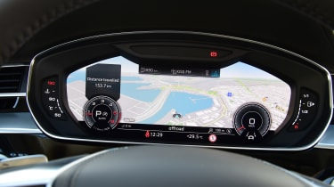 Audi A8 - Virtual Cockpit