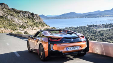 BMW i8 Roadster - rear