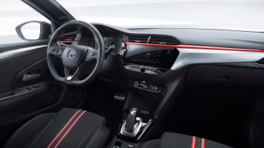 New Vauxhall Corsa interior