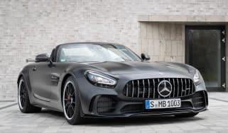 Mercedes-AMG GT R Roadster front