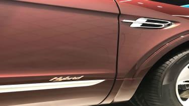 Bentley Bentayga PHEV – badge