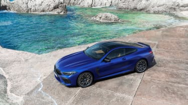 BMW M8 Competition - top