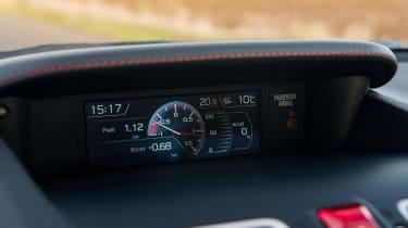 Subaru WRX Final Edition – HUD