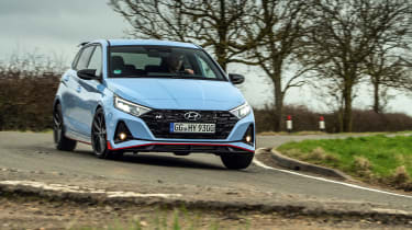 Hyundai i20 N car pictures
