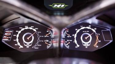 Lamborghini Urus SUV dials display