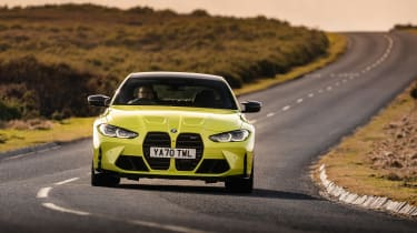 BMW M4 Competition 2021 review – nose