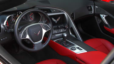 Chevrolet C7 Corvette Stingray - interior