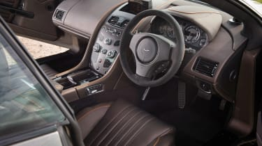 Aston Martin DB9 GT interior