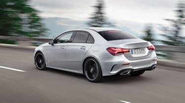Mercedes-Benz A-class saloon – rear quarter
