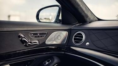 Mercedes-Benz S-class – interior details
