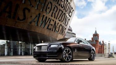 Rolls-Royce Wraith Inspired by Music - Cardiff Bay