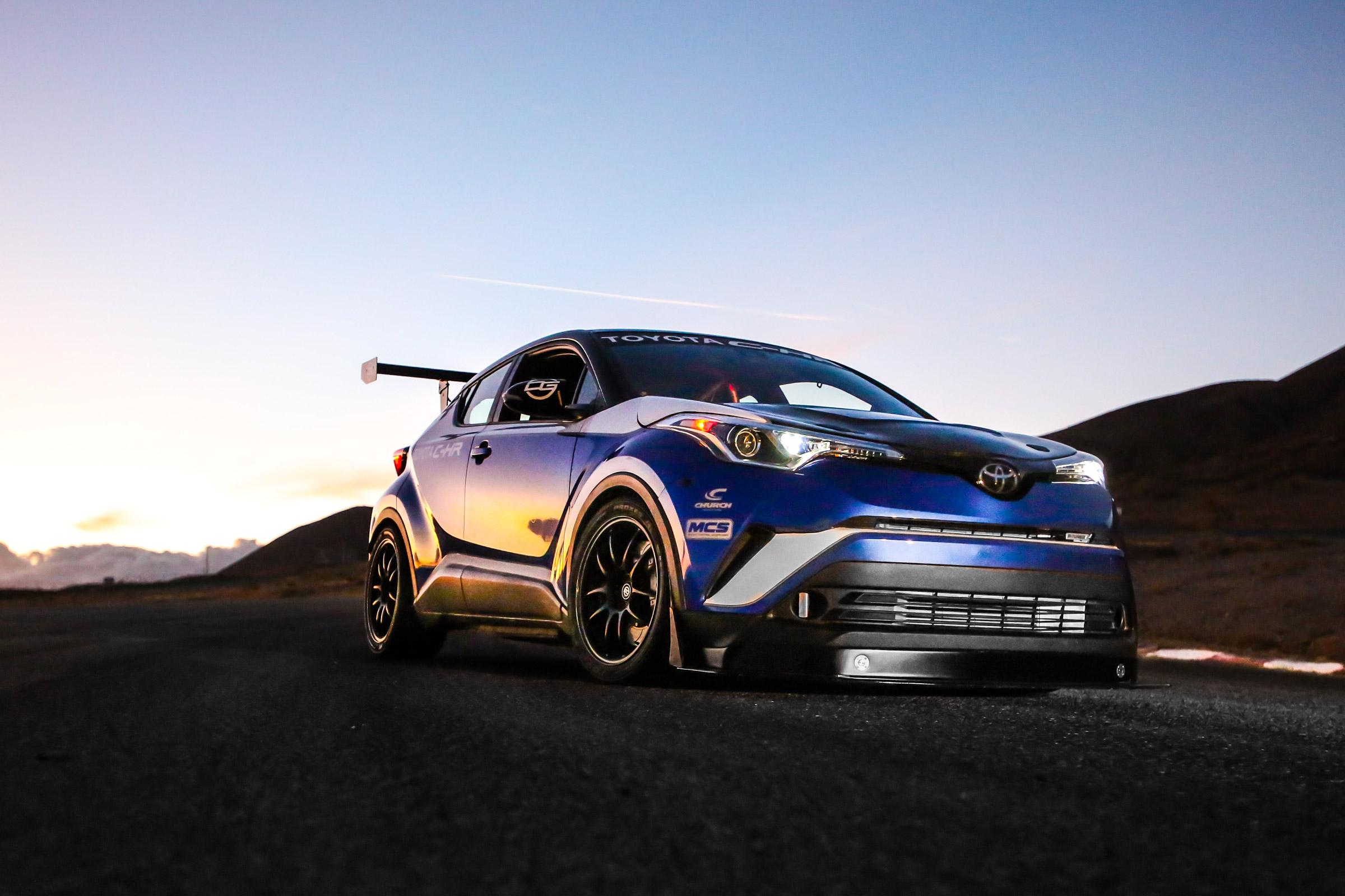 Toyota C-HR R-Tuned revealed at SEMA with 600bhp | Evo