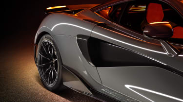 McLaren 600LT revealed - side