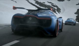 Renault Alpine A110-50 concept video