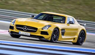 Mercedes SLS AMG Black Series video