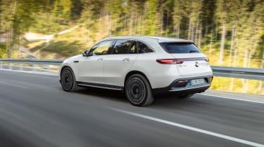 Mercedes EQC AMG-line - rear quarter