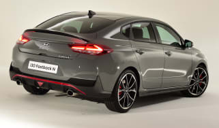 Hyundai i30 Fastback N - rear