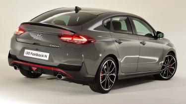 Hyundai i30 Fastback N - rear