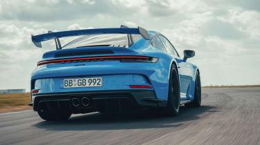 992 Porsche 911 GT3 rear