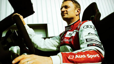 Allan McNish drives Audi R8 GT Spyder