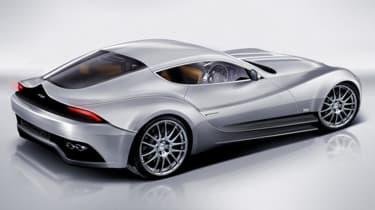 Morgan Eva GT rear