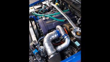 Nissan GT-R collector - engine