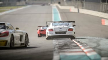 Bentley Continental GT3 race debut report Gulf 12 Hours