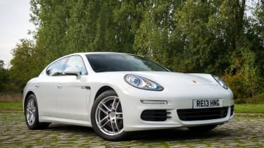 Porsche Panamera Diesel new front styling