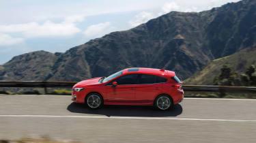 Subaru Impreza Hatch - profile