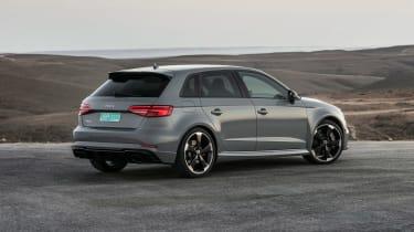Audi RS3 Sportback Grey rear